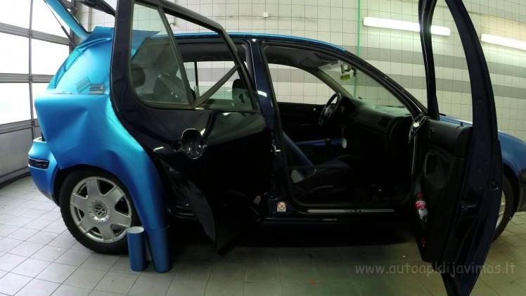 Foliowanie VW Golfa