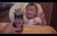 Jak mali mężczyźni reagują na widok piwa?