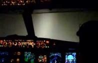 Lot Airbusem przy zerowej widzialności