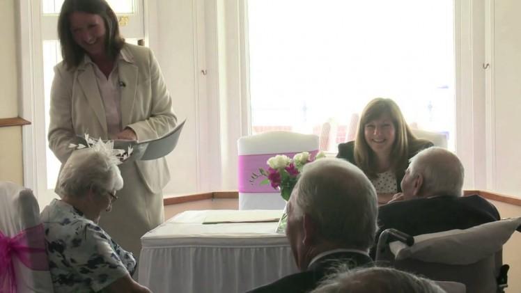 Najstarsza para nowożeńców ma razem 194 lata!