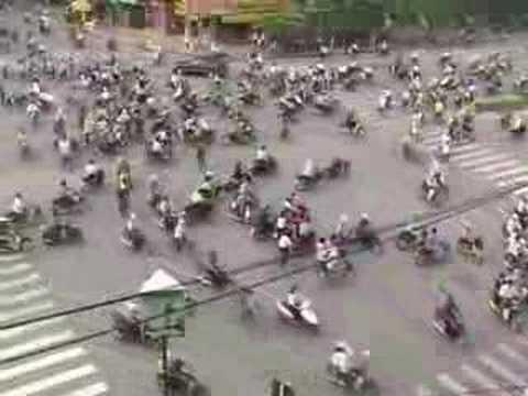 Skrzyżowanie w Wietnamie